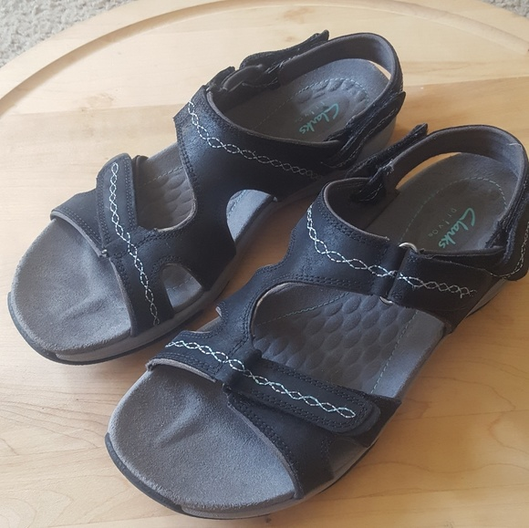 Clarks Privo Comfort Walking Sandals 7 12